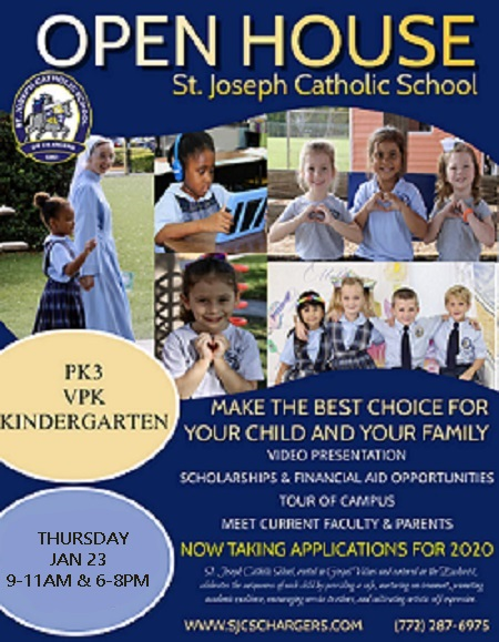 Open House Jan 23, 2020